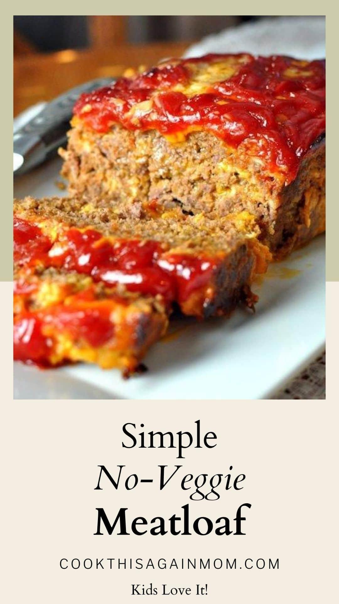 no veggie meatloaf pinterest image