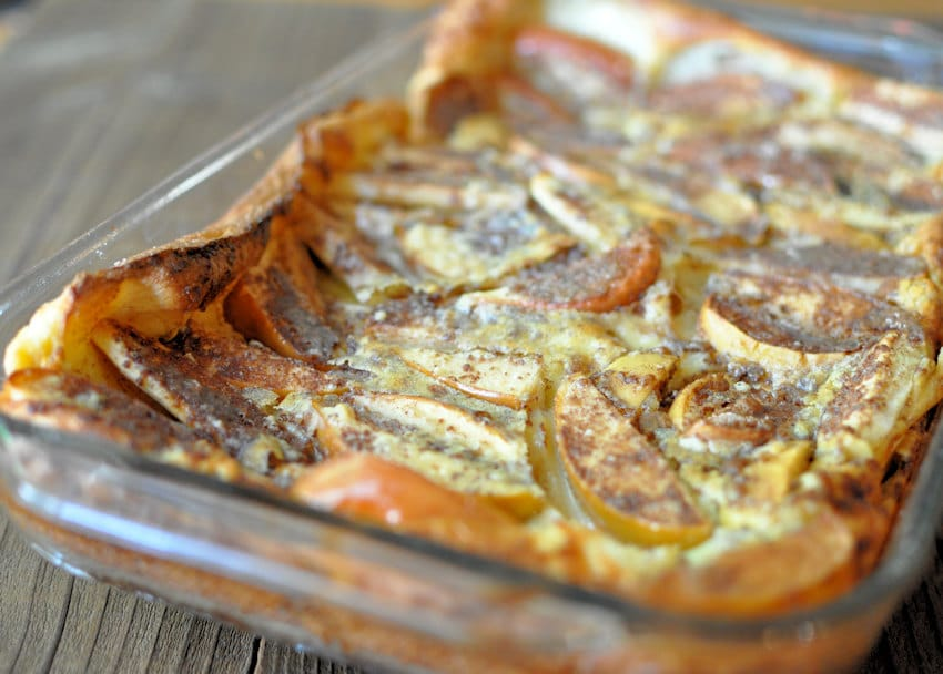 Baked Apple Pancake