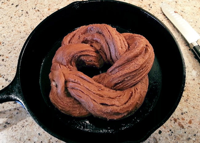 Mocha Cinnamon Twist