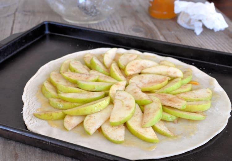 Super Simple Apple Galette
