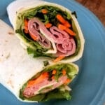 Roast Beef Wrap Sandwich with Thai Sauce