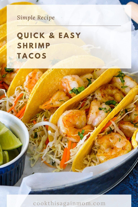 a closeup photo of a platter full of shrimp tacos