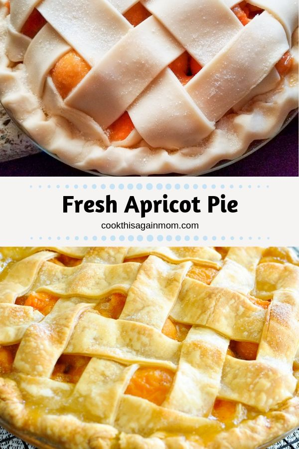 apricot pie pinterest image