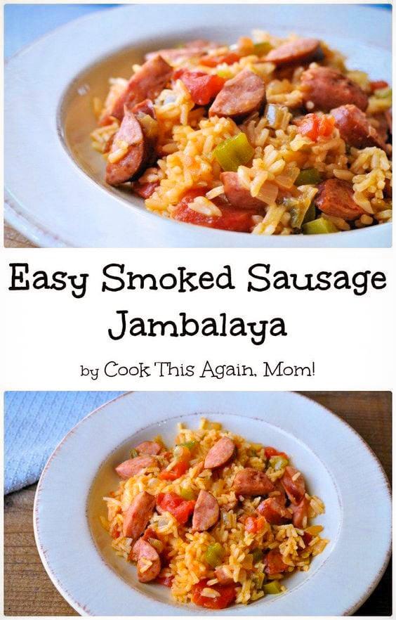 easy smoked sausage