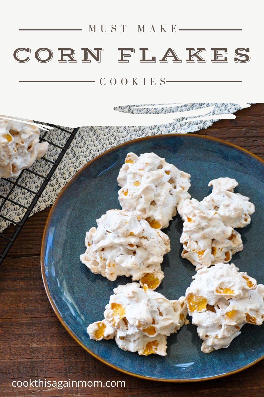 corn flakes cookies pinterest image