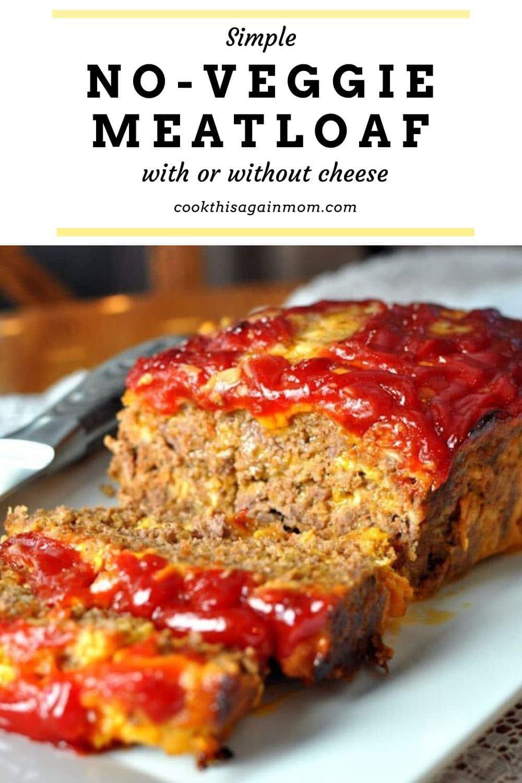 no veggie meat loaf pinterest image