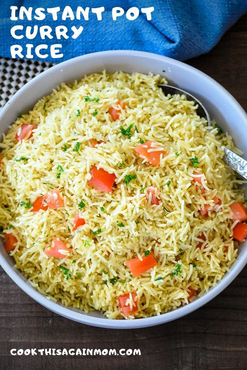 curry rice pinterest image