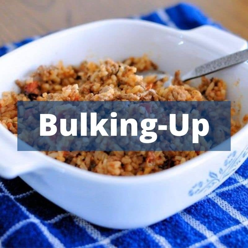 Bulking Up Recipes