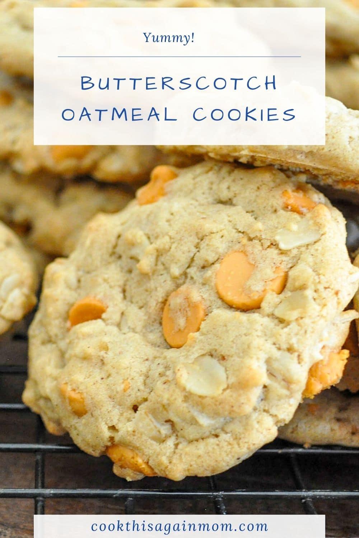 butterscotch cookies pinterest image