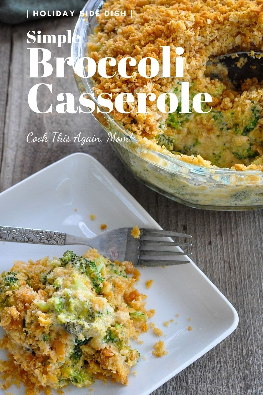 pinterest picture for broccoli casserole