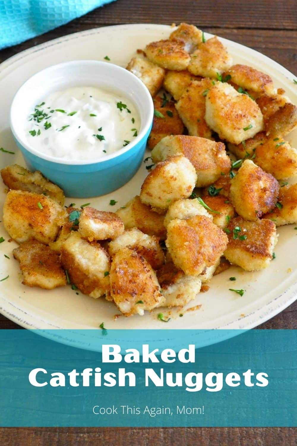 baked catfish nuggets pinterest