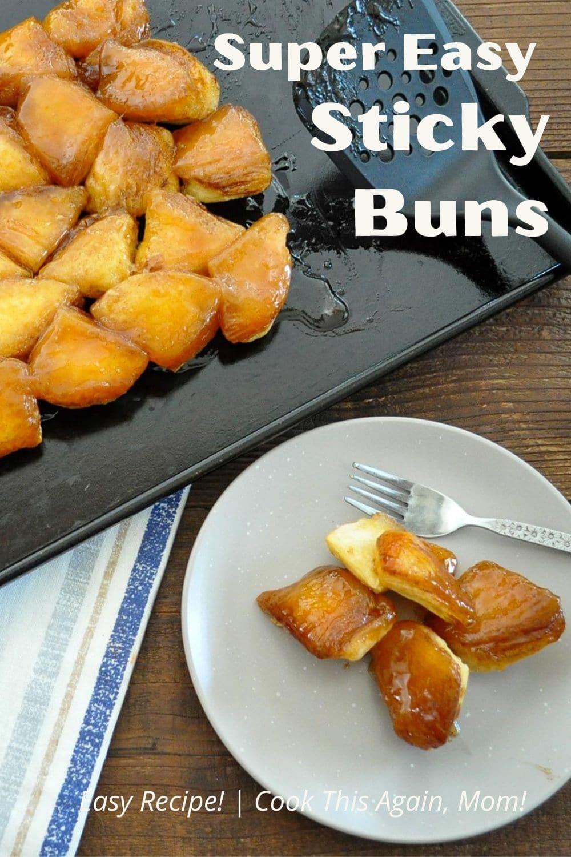 super easy sticky buns pinterest