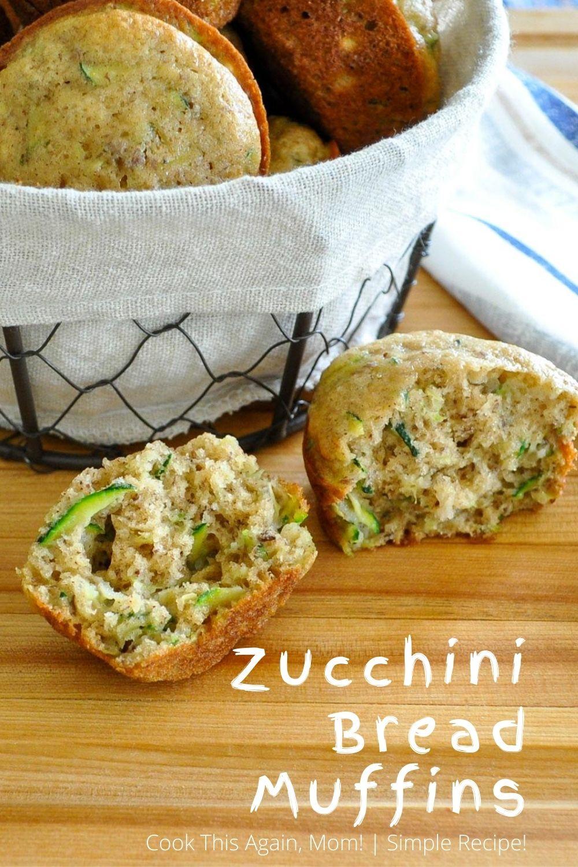 zucchini bread muffins pinterest 4