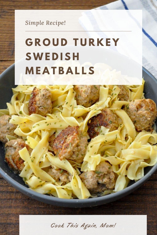 Ground Turkey Swedish Meatballs Pinterest